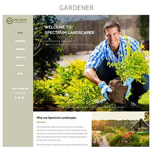 gardener - Spectrum - Multi-Trade Construction Business Theme