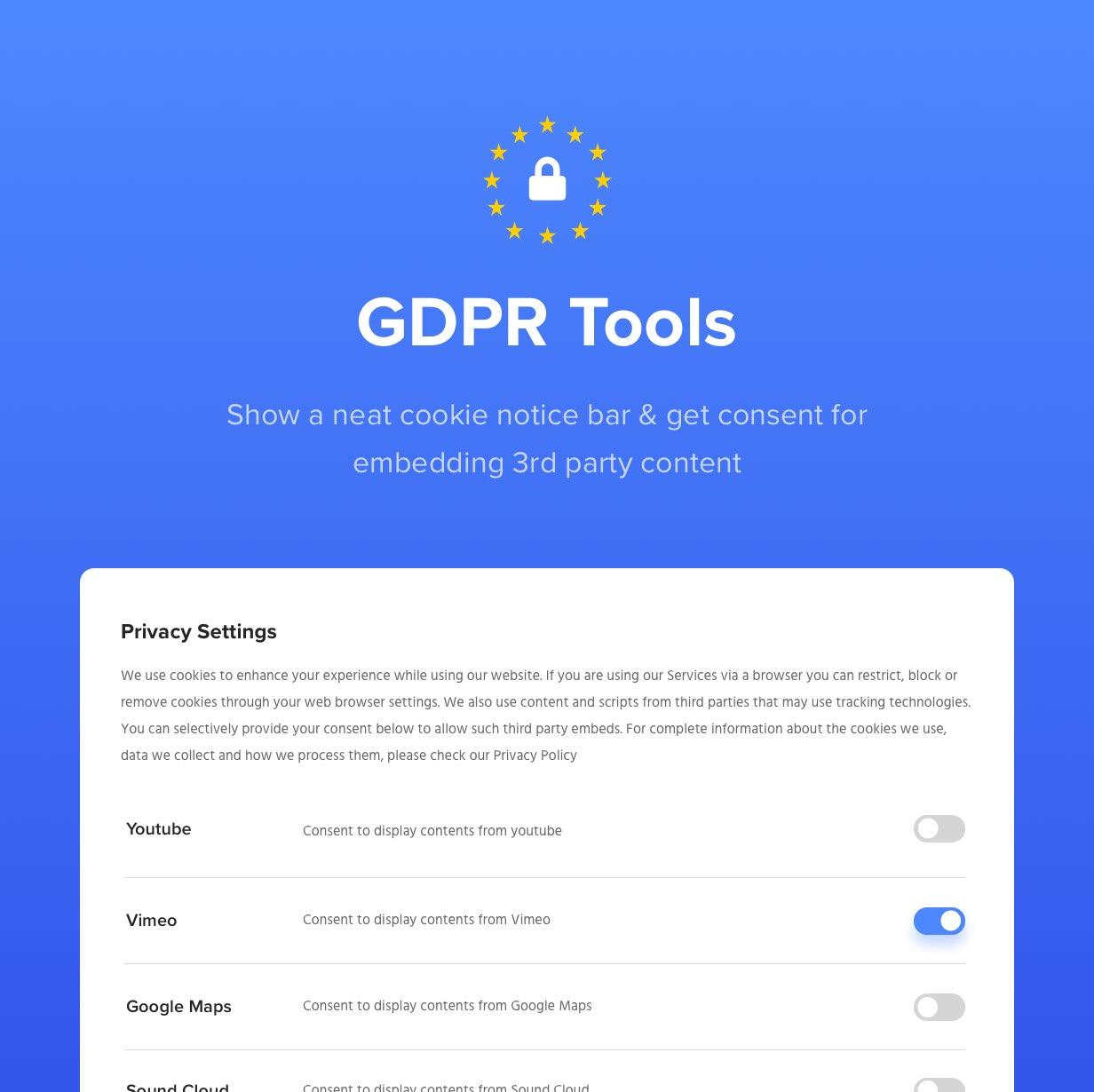 gdpr - Exponent - Modern Multi-Purpose Business WordPress theme