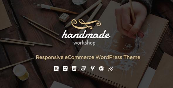 handmade large preview.  large preview - Handmade - Shop WordPress WooCommerce Theme
