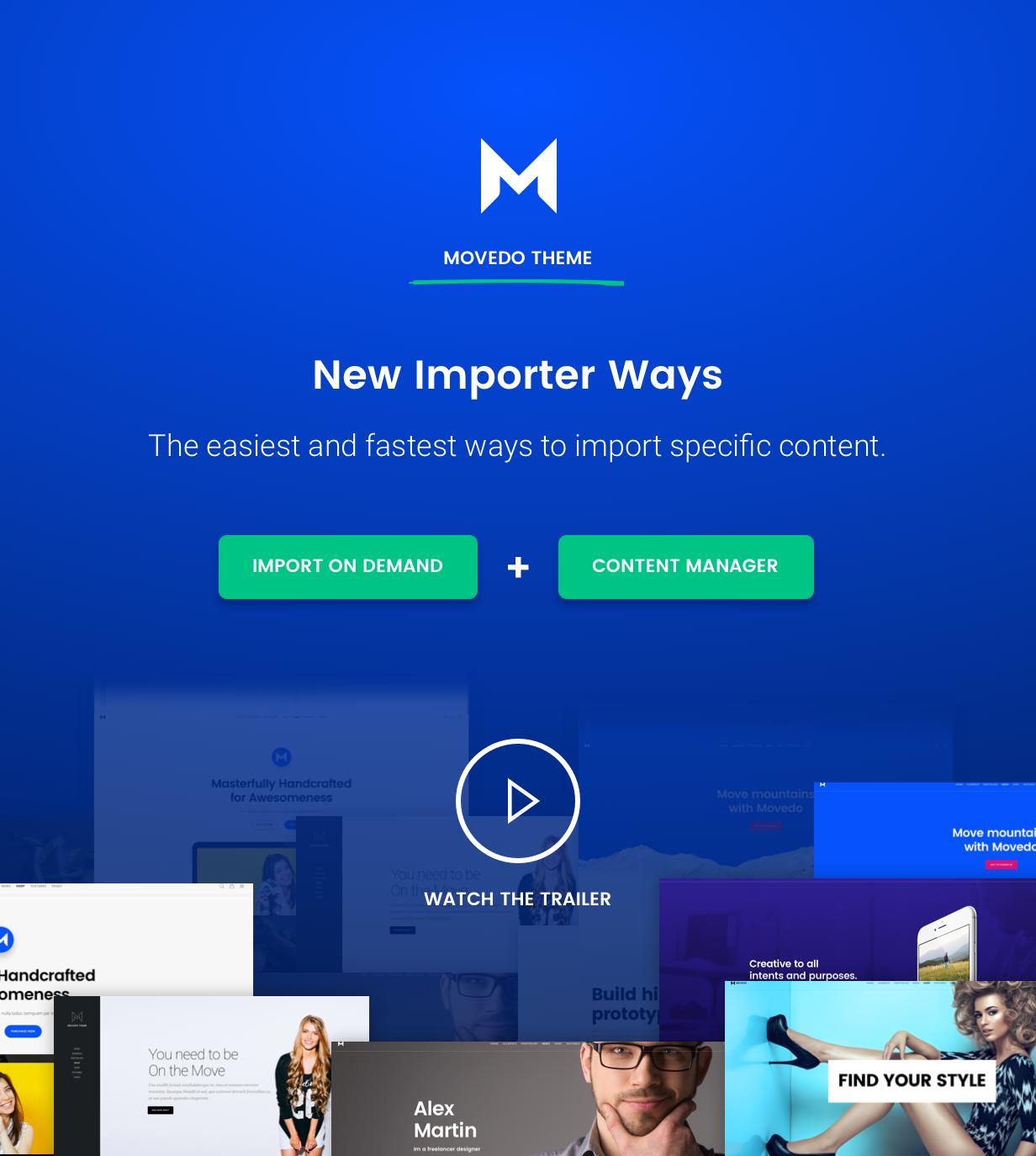 movedo importer ways - Movedo - Responsive Multi-Purpose WordPress Theme
