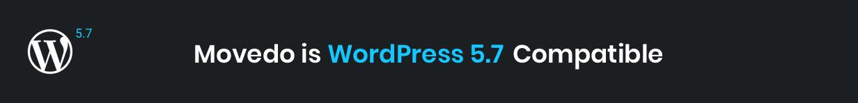 movedo wp 5.7 compatible - Movedo - Responsive Multi-Purpose WordPress Theme