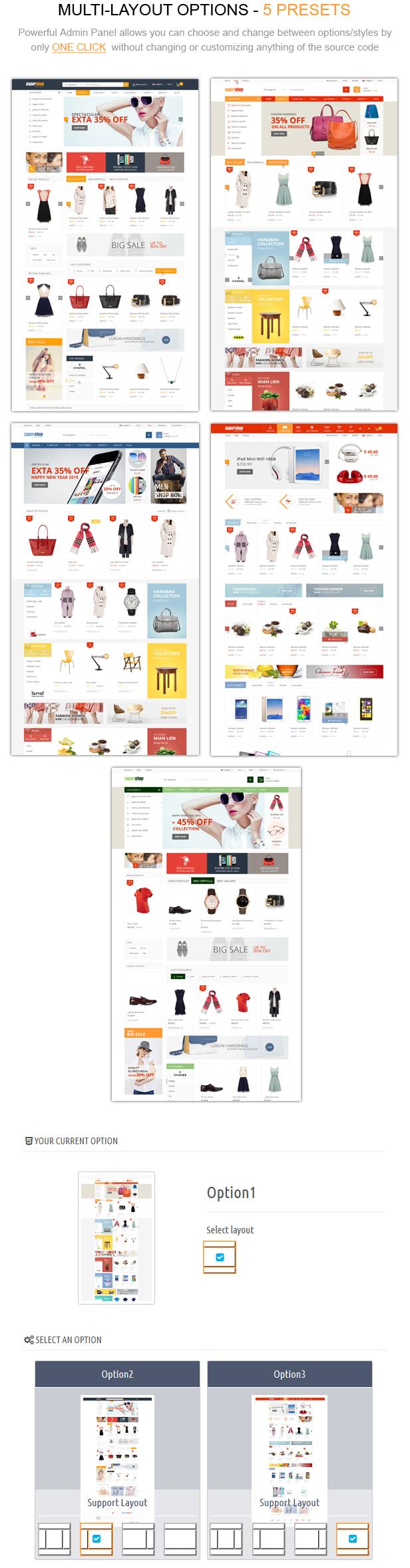 multi layout%20option - SuperShop – Responsive Prestashop 1.6 & 1.7 Theme