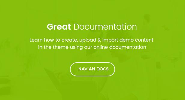 navian doc 1 - Navian - Multi-Purpose Responsive WordPress Theme