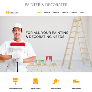 painter - Spectrum - Multi-Trade Construction Business Theme