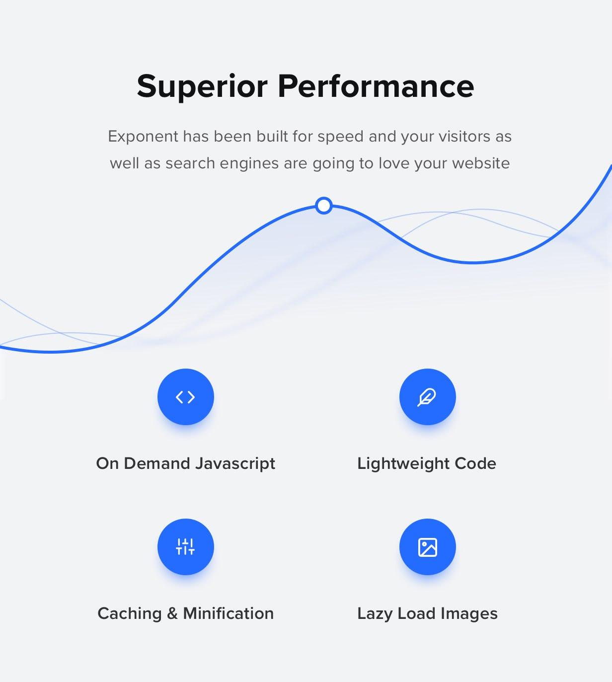 performance - Exponent - Modern Multi-Purpose Business WordPress theme