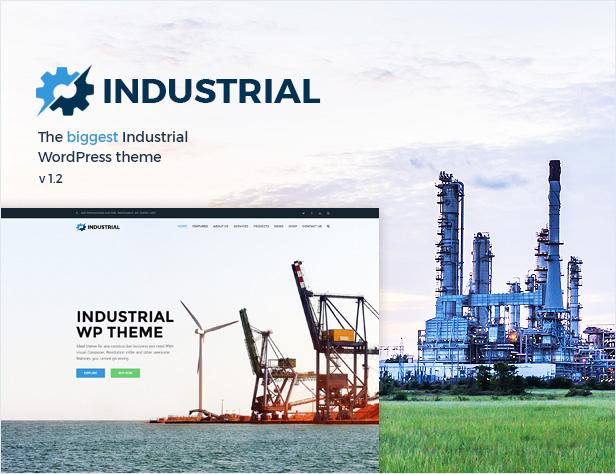 presentation1v2 - Industrial - Factory Business WordPress Theme