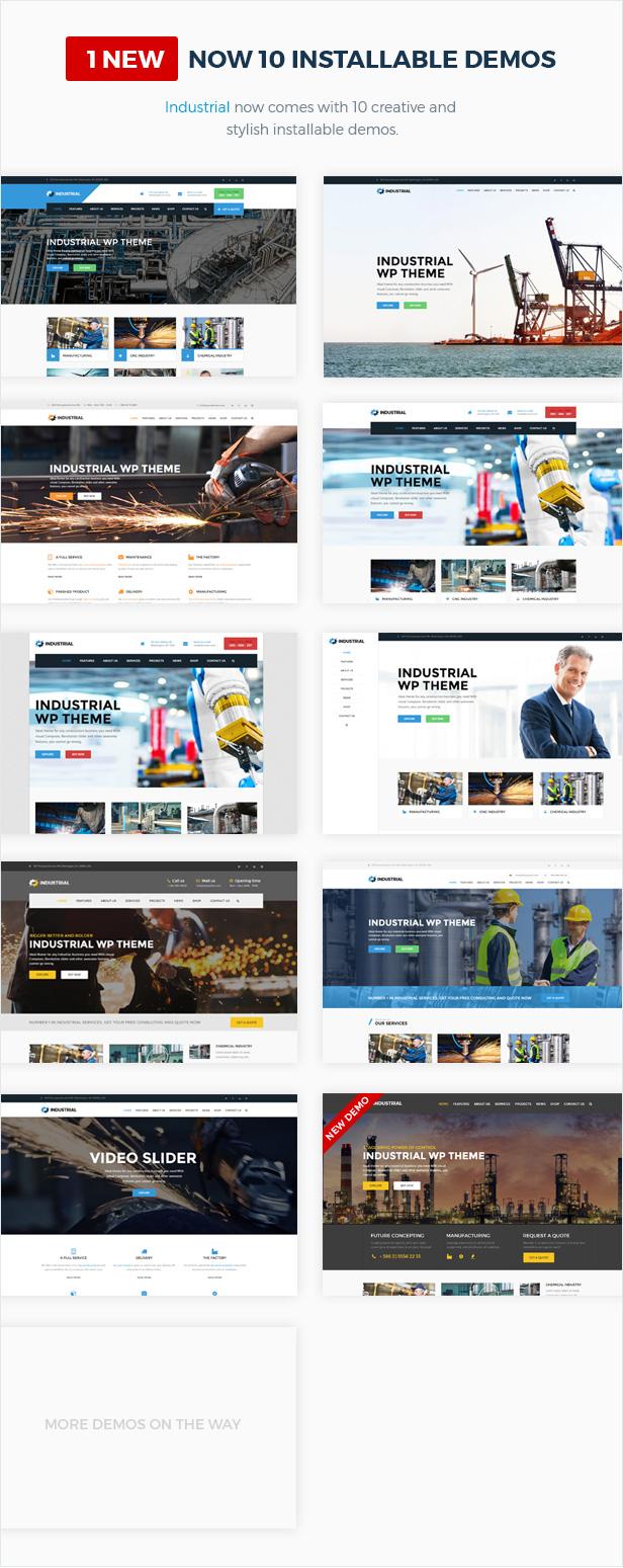 presentation2v4 - Industrial - Factory Business WordPress Theme