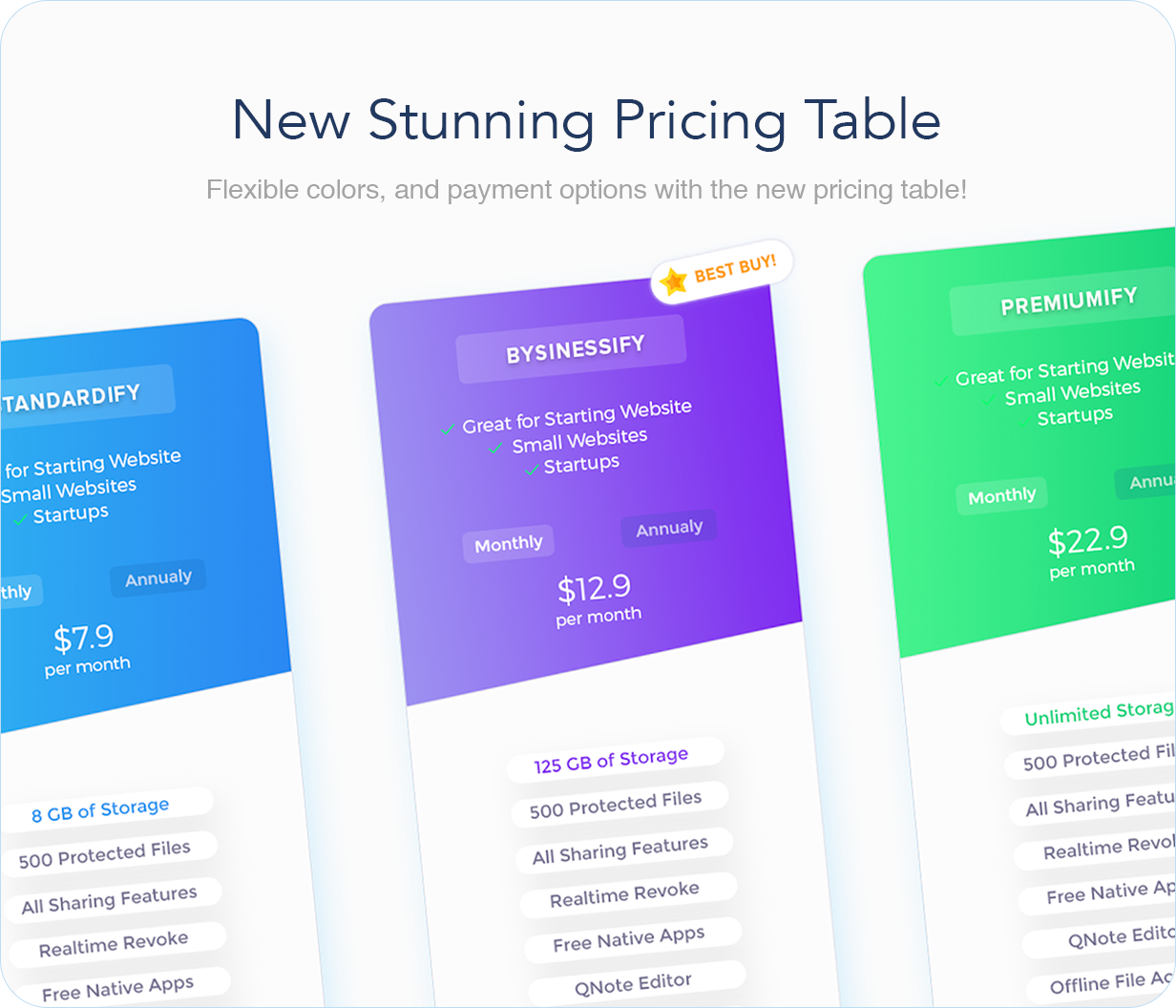 pricing - Hostify — Hosting HTML & WHMCS Template