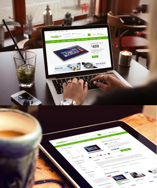 real photo - MediaCenter - Electronics Store WooCommerce Theme