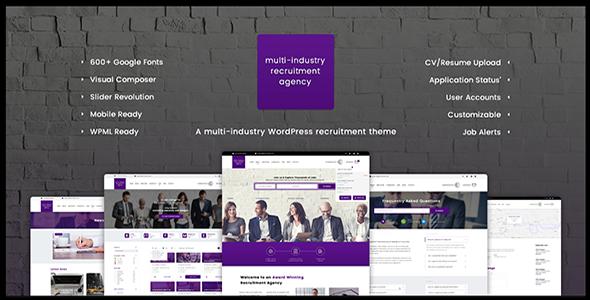 recruitment - Spectrum - Multi-Trade Construction Business Theme