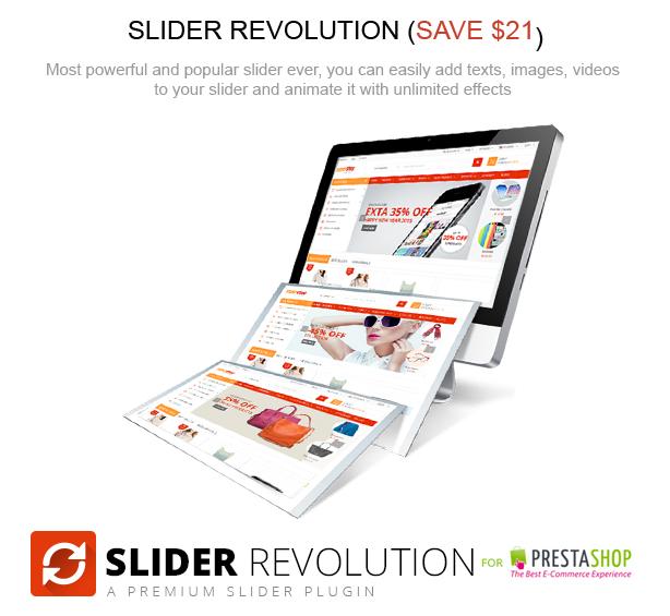 revolution slider - SuperShop – Responsive Prestashop 1.6 & 1.7 Theme