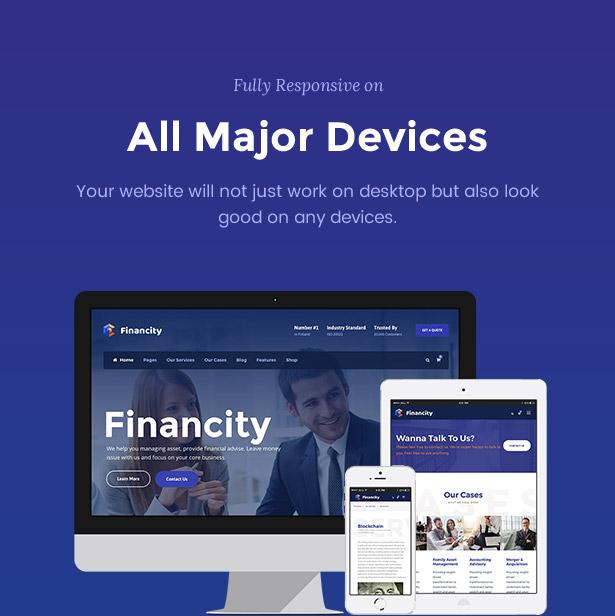 screen 6 - Financity - Business / Financial / Finance WordPress