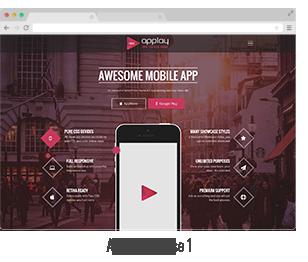 showcase 02 - Applay - WordPress App Showcase & App Store Theme