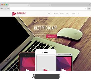 showcase 04 - Applay - WordPress App Showcase & App Store Theme