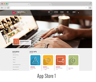 showcase 06 - Applay - WordPress App Showcase & App Store Theme