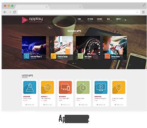 showcase 07 - Applay - WordPress App Showcase & App Store Theme