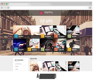 showcase 08 - Applay - WordPress App Showcase & App Store Theme