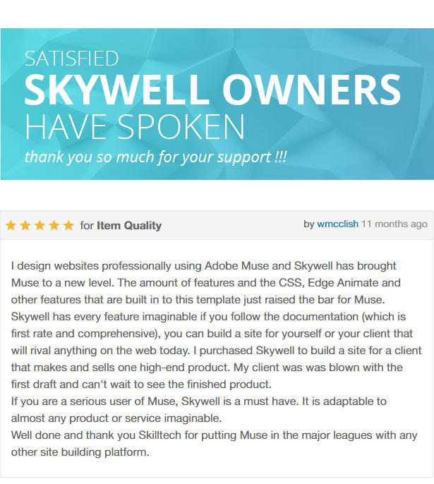 skywell 2 07 - Skywell - MultiPurpose Adobe Muse Template