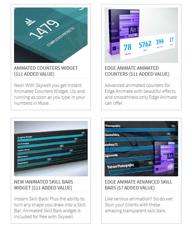 skywell 2 13 - Skywell - MultiPurpose Adobe Muse Template