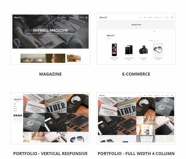 skywell 2 21 - Skywell - MultiPurpose Adobe Muse Template