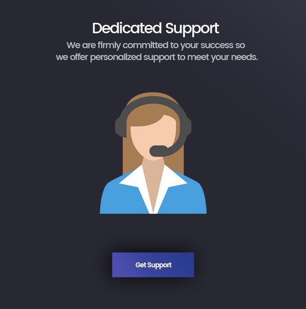 support banner - Folie | Creative Multi-Purpose Theme