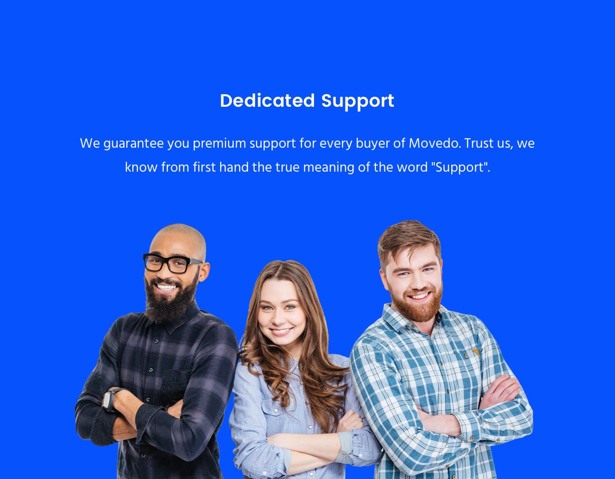 support new - Movedo - Responsive Multi-Purpose WordPress Theme