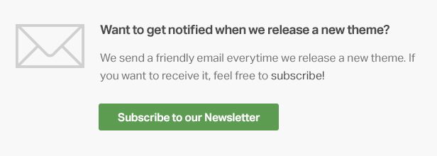 tf newsletter 1 - Ink — A WordPress Blogging theme to tell Stories