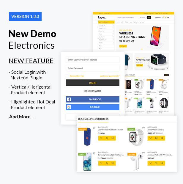 version 1 3 0 - Kapee - Modern Multipurpose WooCommerce Theme