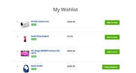 wishlist woocommerce feature - MediaCenter - Electronics Store WooCommerce Theme