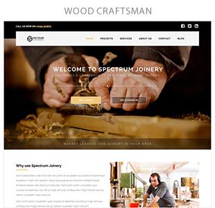wood cratsmam - Spectrum - Multi-Trade Construction Business Theme