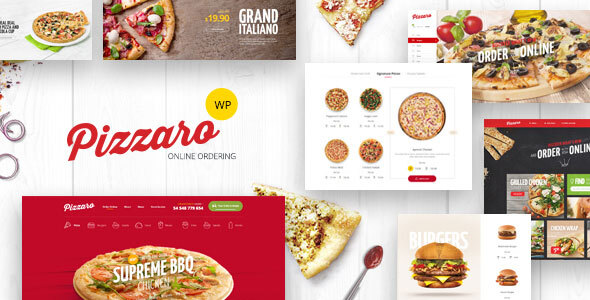 00 Pizzaro.  large preview - Pizzaro - Fast Food & Restaurant WooCommerce Theme