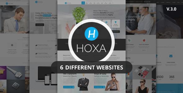 00.  large preview - Hoxa - Responsive Multipurpose Joomla Template