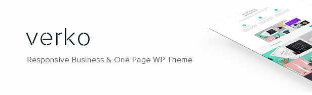 01 - Verko | Responsive Business & One Page WP Theme
