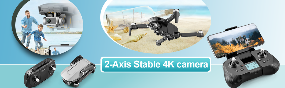 01887a22 b21f 4e05 9cfa f8bb3a06a183.  CR0,0,970,300 PT0 SX970 V1    - 4DRC F4 GPS Drone with 4K Camera for Adults,2-Axis gimbal Anti-shake Camera HD FPV Live Video,Brushless Motor RC Quadcopter, Auto Return,Follow Me,Waypoint Fly,Headless Mode,Carrying Case