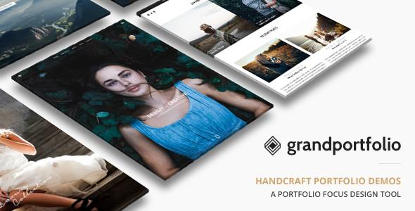 01 Cover.  large preview - Grand Portfolio WordPress