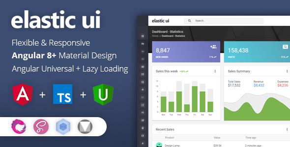 01 Header.  large preview - elastic ui - Angular 8 Material Design & Redux Admin Template