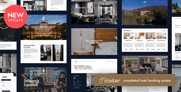 01 cover.  large preview - Hotel Booking WordPress