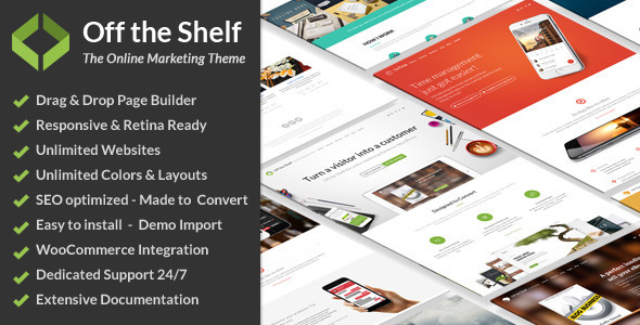 01 preview large.  large preview - Off the Shelf - Online Marketing WordPress Theme