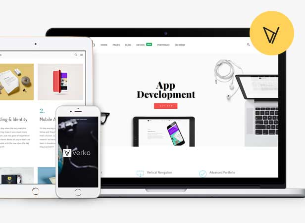 02 - Verko | Responsive Business & One Page WP Theme