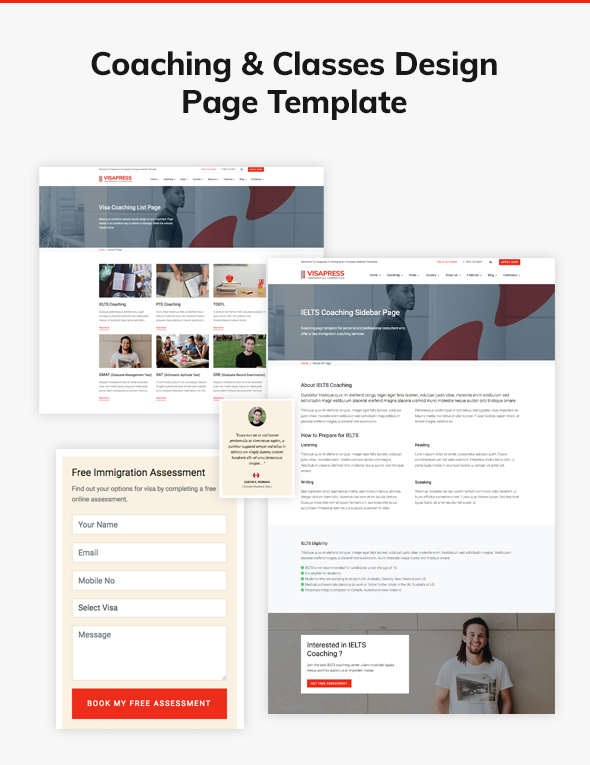 04 coaching page template - VisaHub - Immigration Consulting WordPress Theme