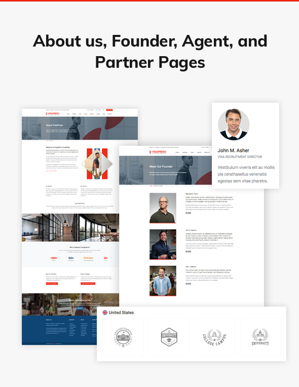07 about us page example - VisaHub - Immigration Consulting WordPress Theme