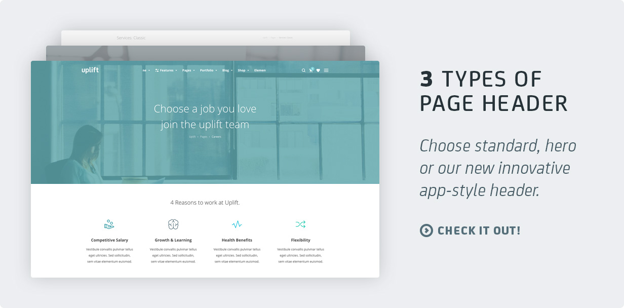 10 pageheaders - Uplift - Responsive Multi-Purpose WordPress Theme