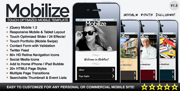1628399261 289 01 preview.  large preview - Mobilize - Touch Optimized Mobile Template