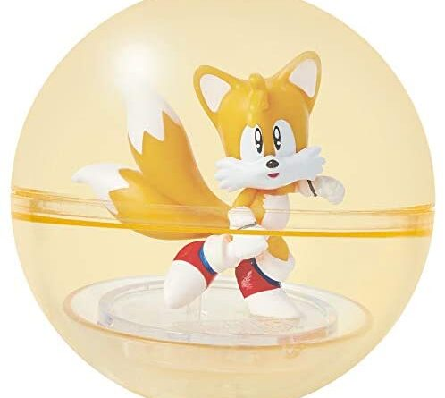 1628779384 41dzo1Dv9LL. AC  498x445 - Sonic The Hedgehog Sonic Booster Sphere Tails Action Figure