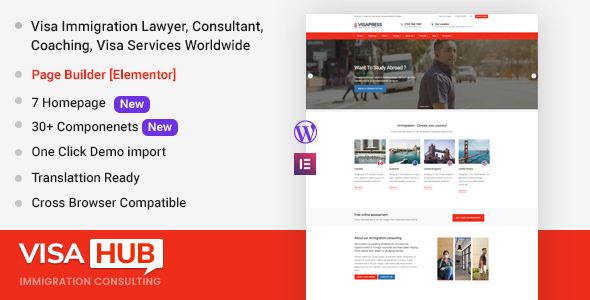 1628832532 799 preview.  large preview - VisaHub - Immigration Consulting WordPress Theme