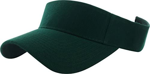1629863169 31sSe3R7DfL. AC  - DealStock Plain Men Women Sport Sun Visor One Size Adjustable Cap (29+ Colors)
