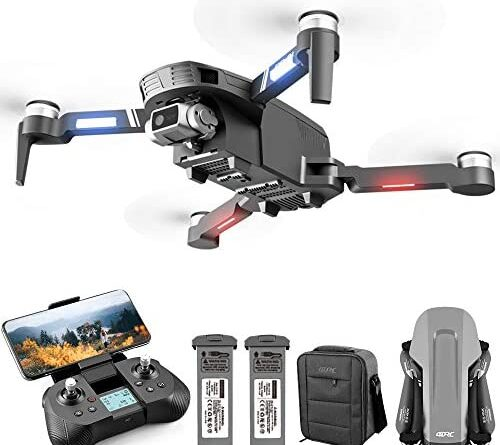 1630122736 513LbxNvxwL. AC  500x445 - 4DRC F4 GPS Drone with 4K Camera for Adults,2-Axis gimbal Anti-shake Camera HD FPV Live Video,Brushless Motor RC Quadcopter, Auto Return,Follow Me,Waypoint Fly,Headless Mode,Carrying Case