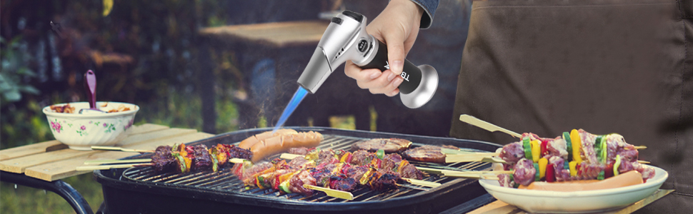 1eb72d3d 32de 4f0f b9e8 3edf35e936b1.  CR0,0,970,300 PT0 SX970 V1    - TBTEEK Kitchen Torch, Fit All Tanks Butane Torch Cooking Torch with Safety Lock & Adjustable Flame for Cooking, BBQ, Baking, Brulee, Creme, DIY Soldering(Butane Not Included)