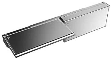 21vonetujQL. AC  - Weber 7003 SmokeFire EX6 Folding Front Shelf, Silver