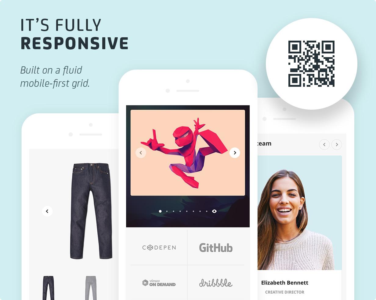 2 mobile - Uplift - Responsive Multi-Purpose WordPress Theme